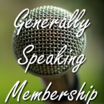 Generally Speaking Membership Shopping Cart Image